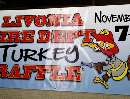 Livonia Fire Dept. Turkey Raffle