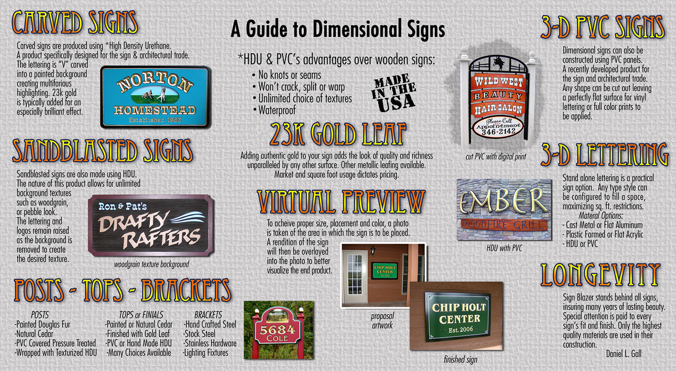 Guide To 3D Signs – SignBlazerSigns