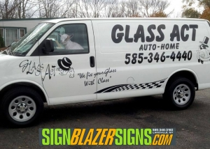 Glass Act Van