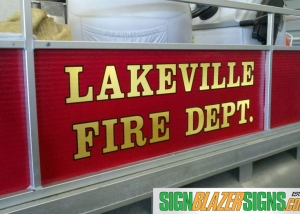 Lakeville Fire Dept Boat