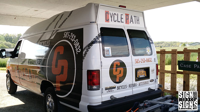 Cyclepath Van Wrap