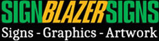 SignBlazerSigns Logo